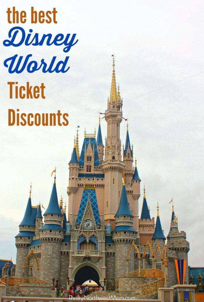 Disney World Tickets Discounts  – Best ways to save on Disney World tickets!