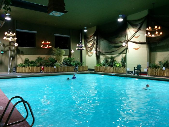 Pool at Anderson School Hotel