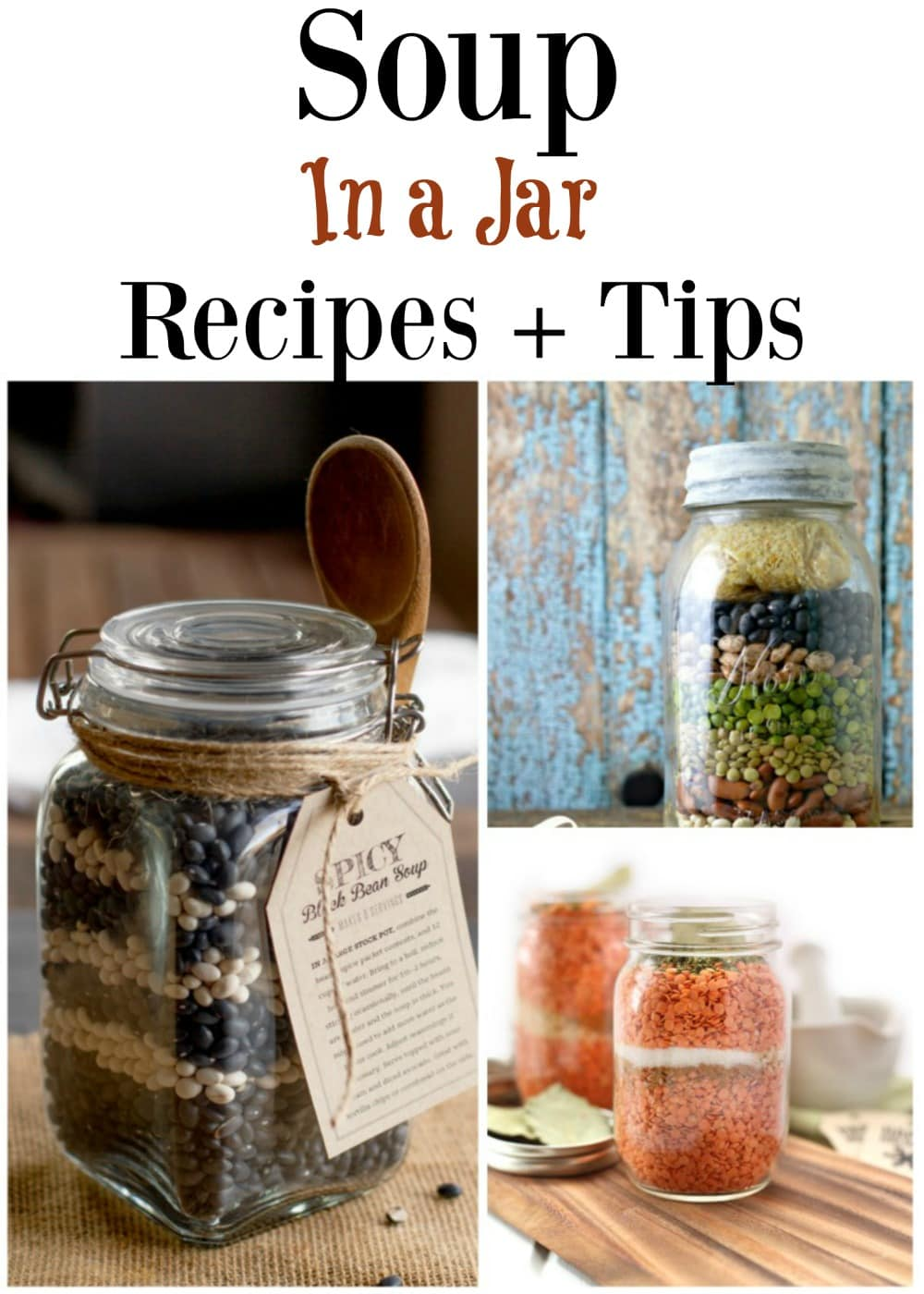 Soup in a jar recipes
