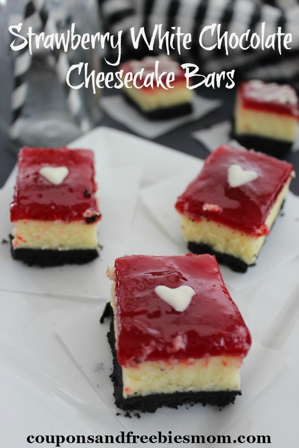 Strawberry-White-Chocolate-Cheesecake-Bars