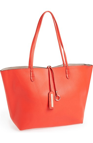 Street Level Reversible Faux Leather Tote $24.98 (Reg $48)