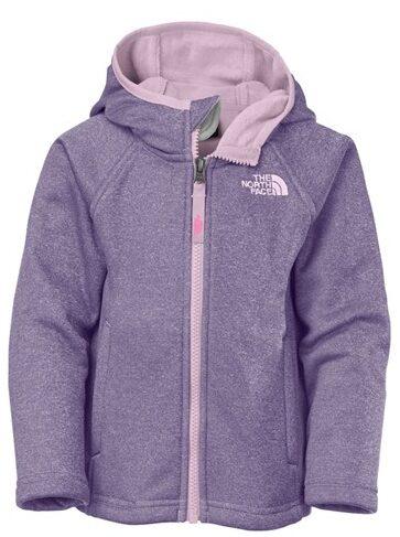 North Face Agave Hardface Fleece Hooded Jacket $50.98