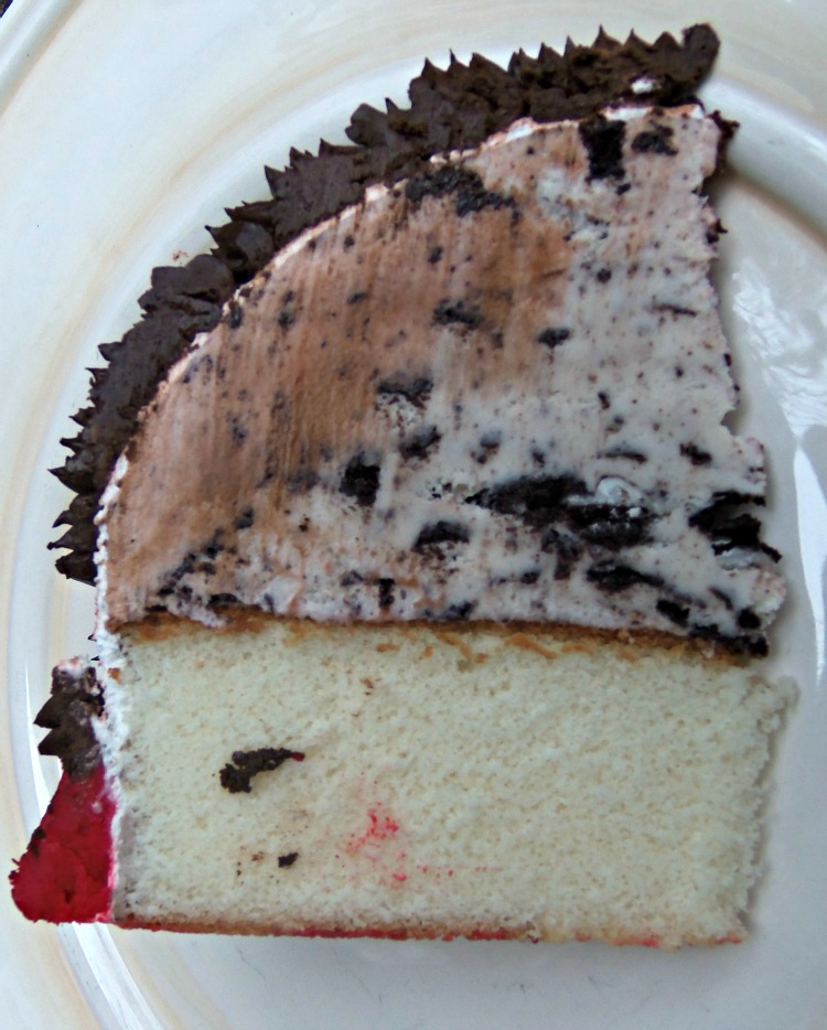 Ice Cream Cake Slice