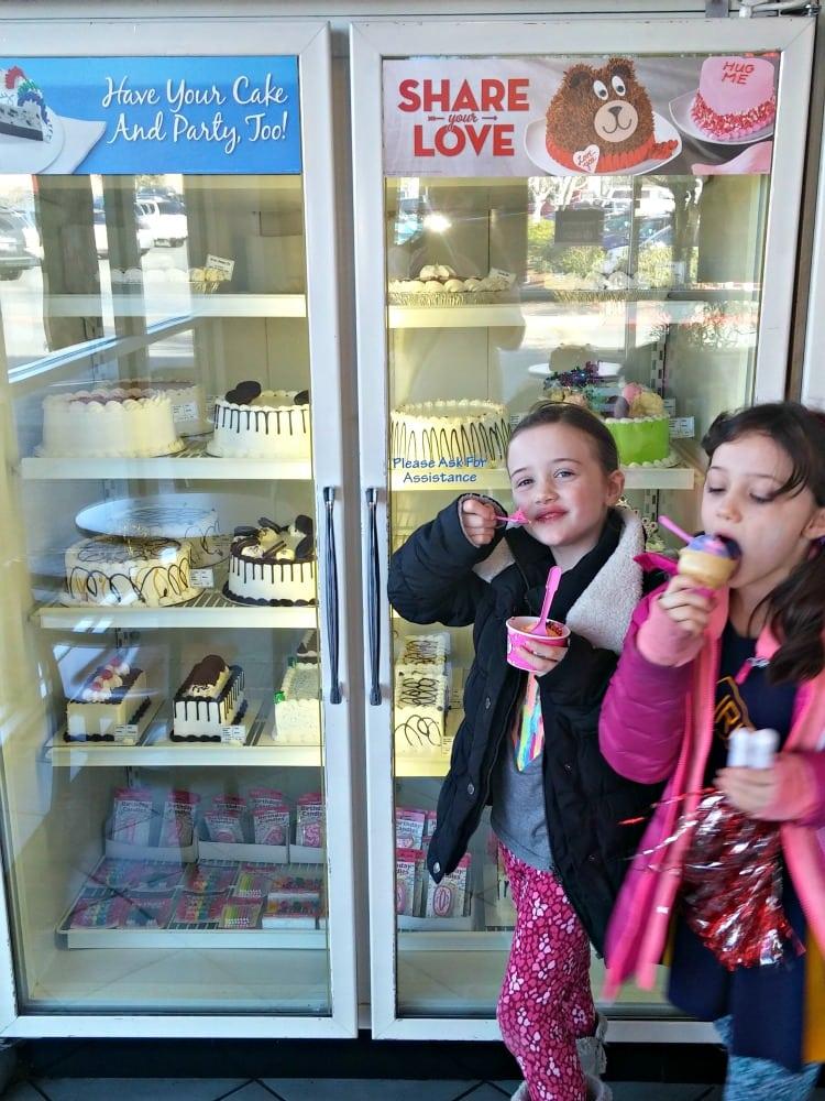 Ice Cream Cakes at Baskin Robbins