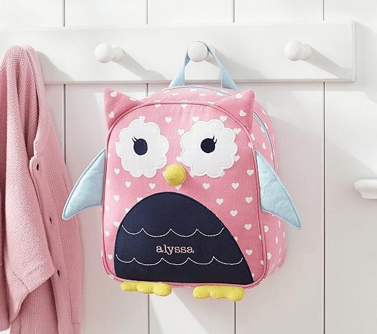 Preschool Owl Backpack