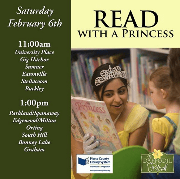 Read with a Daffodil Princess