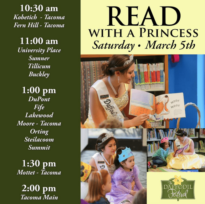 Read with a Princess Event