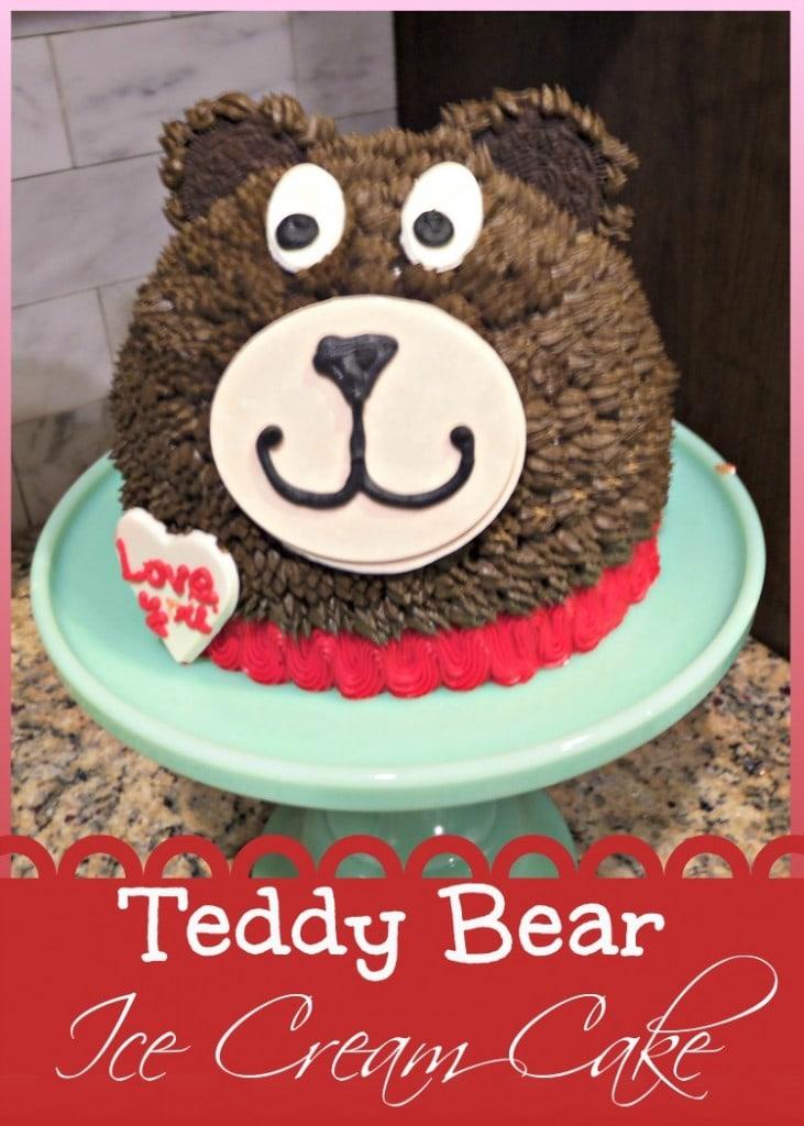 Baskin-Robbins Teddy Bear Ice Cream Cakes – Fun Way to Celebrate Valentines Day!