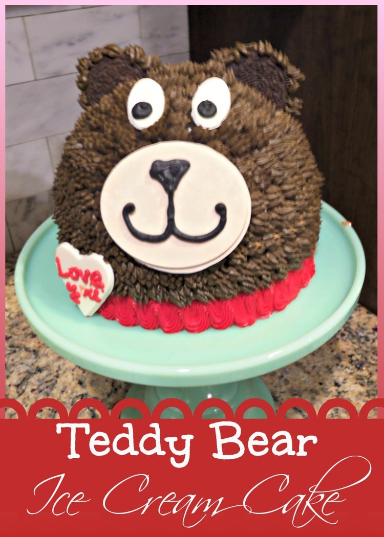 Teddy Bear Ice Cream Cake 3