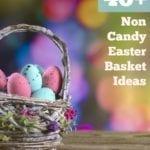 40+ Non Candy Easter Basket Ideas