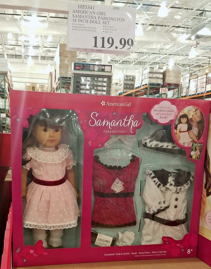 American Girl Doll Sale at Costco Samantha Doll