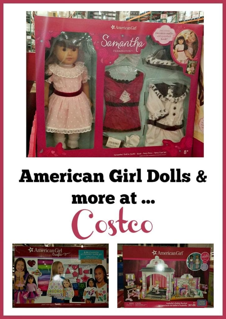 American Girl Dolls for Sale at Costco plus horse, pets, crafts & more!