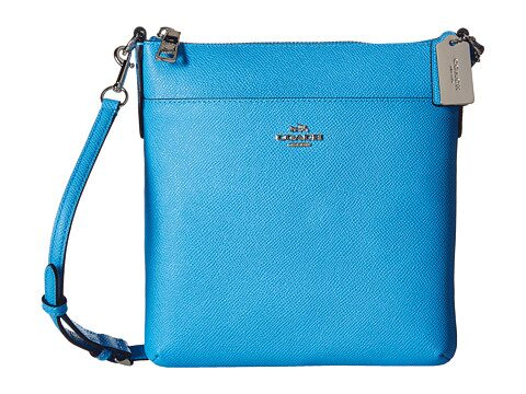COACH Embossed Textured Leather North/South Swingpack $69.99 (Reg $145)