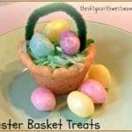 Easter Basket Cookies! Use Pre-Made Cookie Dough for these Simple Easter Treats!
