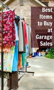 Garage Sale Treasure - The 10 Best Items to Buy at Garage Sales