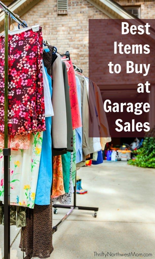 Garage Sale Treasure: 10 Best Items to Buy at Garage Sales