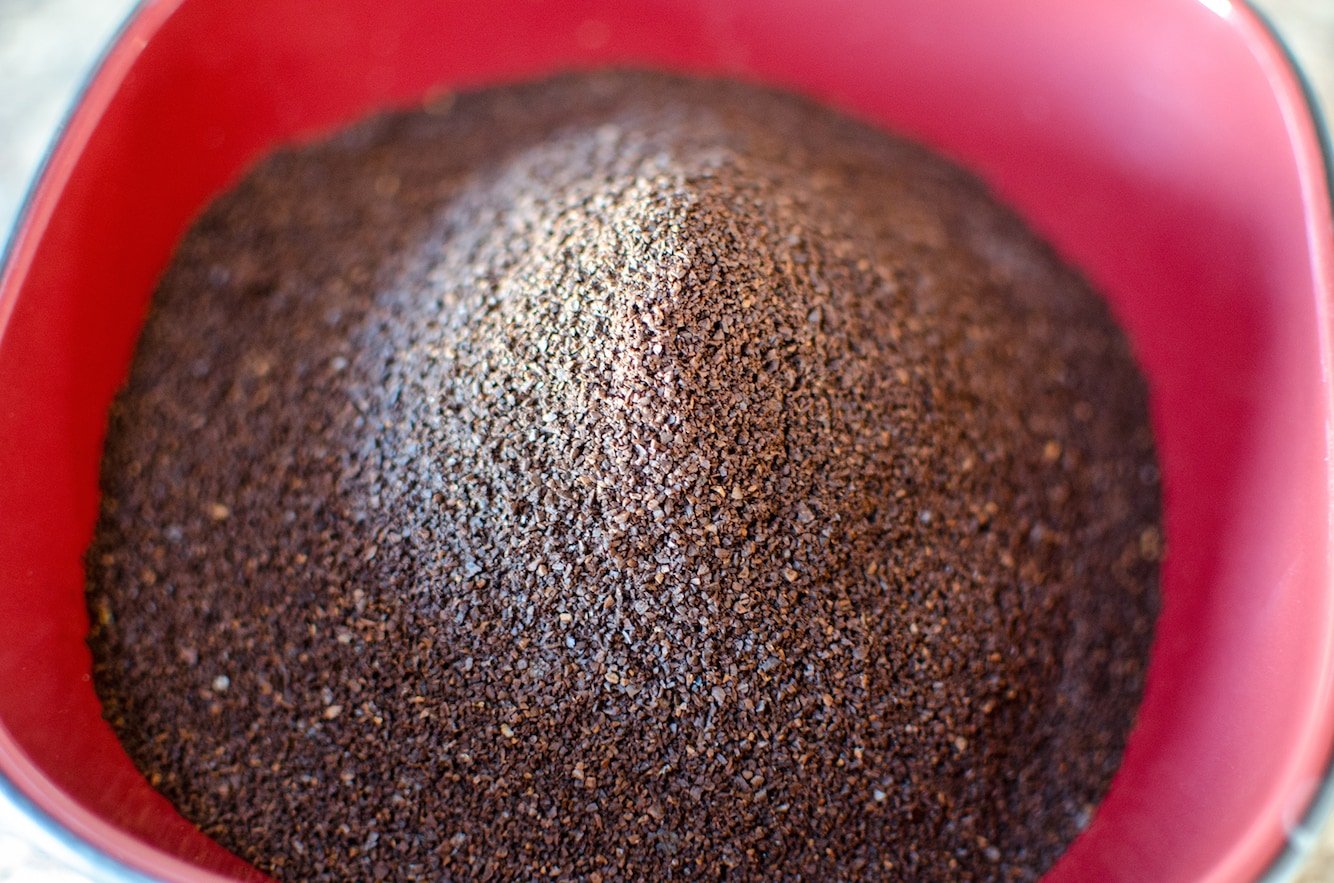 Coffee Grounds for Iced Coffee