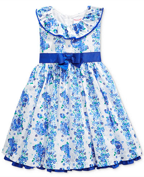 Nannette Toddler Girls' Floral-Print Dress