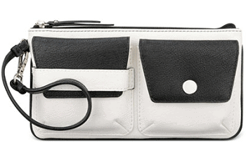 Nine West Pop Pocket Pouch Wristlet