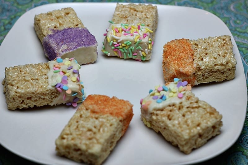 Rice Krispie Treats with Sprinkles