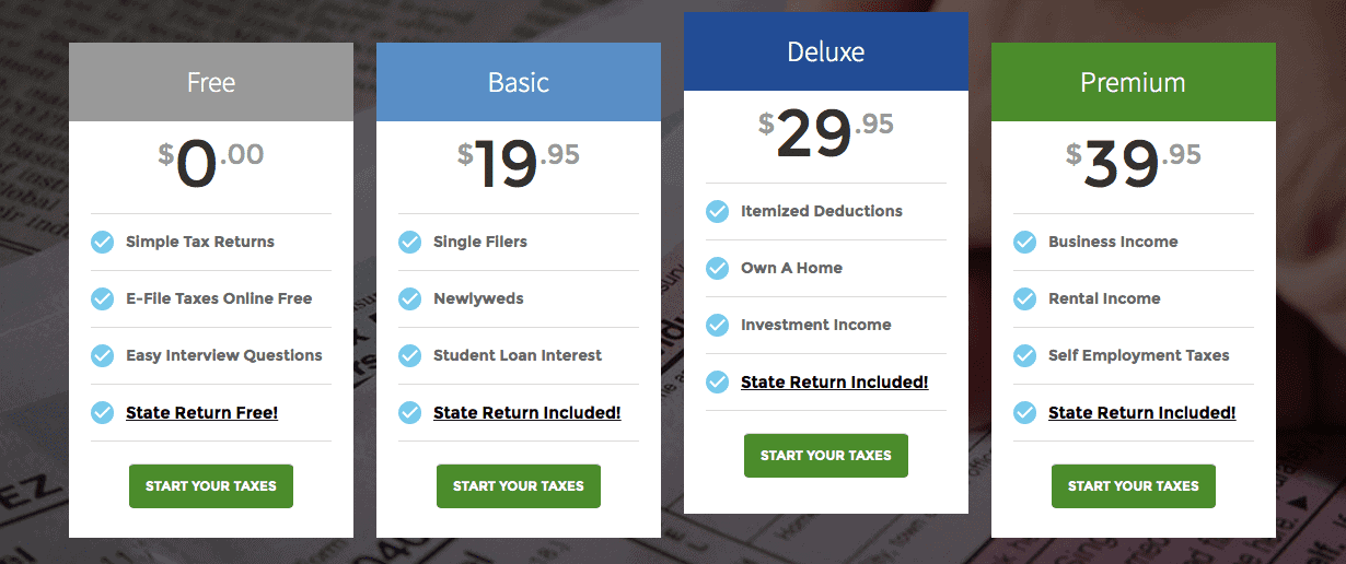 One Price Taxes Pricing