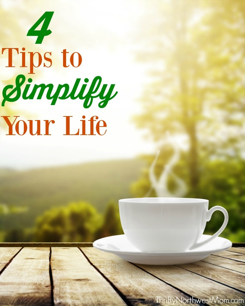 4 tips to simplify your life eccumoments thrifty nw mom. Black Bedroom Furniture Sets. Home Design Ideas