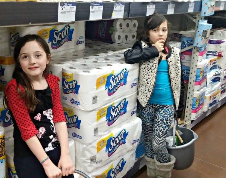 kids cleaning caddies