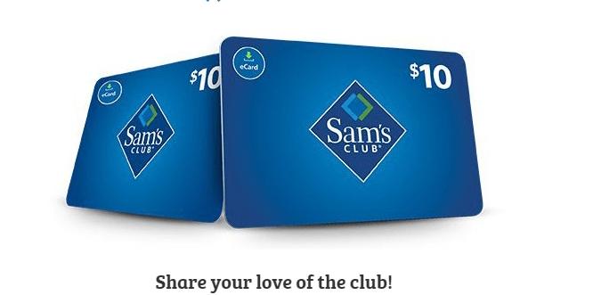 Sams Club Membership Deals - Membership + $20 Gift Card