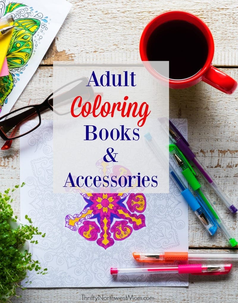 Adult Coloring Books Gift Guide – Coloring Books & Accessories