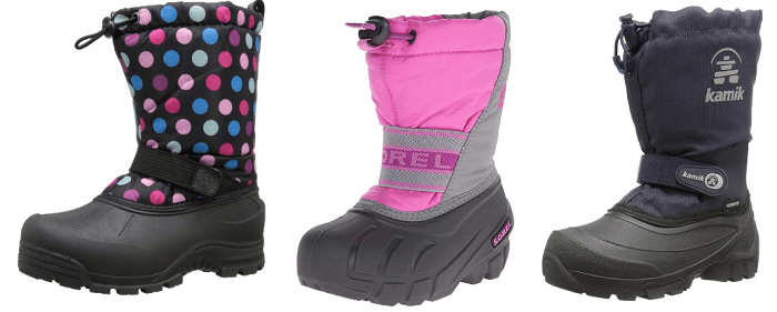 Amazon Boot Sale: Great Deals On Kids Winter Boots for Kamik, Sorel & more!