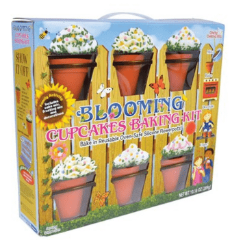 Brand Castle Blooming Chocolate Cupcake Kit