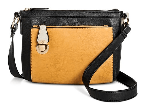 Cesca Women's Color Block Large Crossbody Handbag