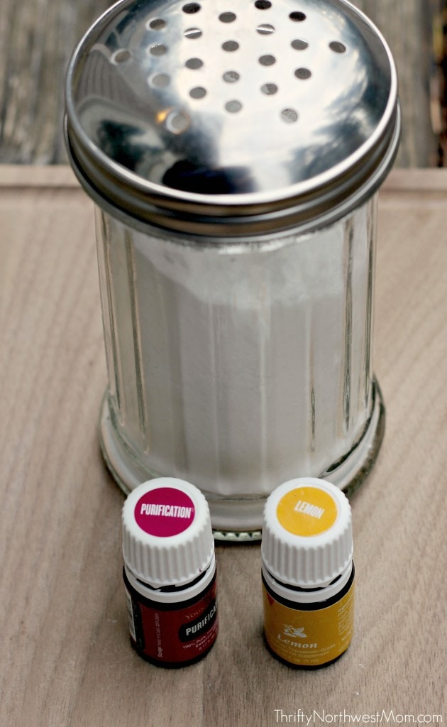 DIY Carpet Deodorizer with Purification and Lemon Essential Oils