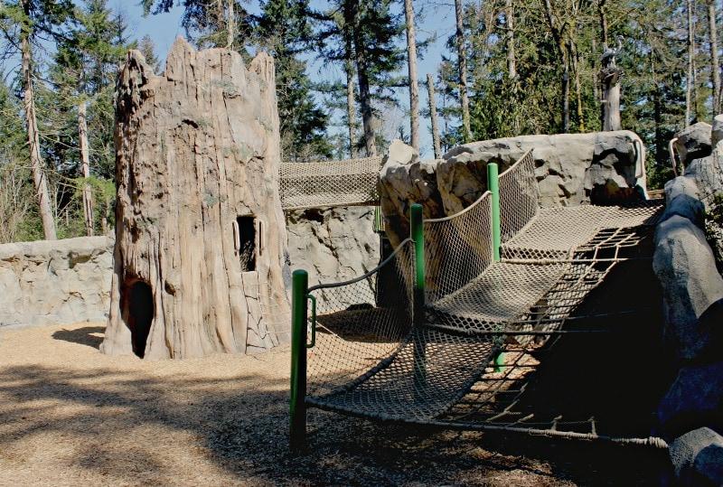 Kids Trek 20 Foot Tall Tree Trunk