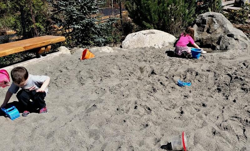 Kids Trek Sand Area