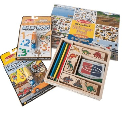 Melissa & Doug Stamp & Sticker Activity Set