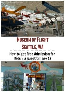Find out how to get free admission for students up to age 18 + a guest at the Seattle Museum of Flight