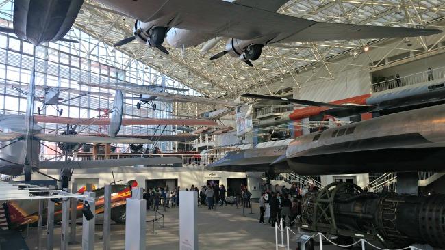 Museum of flight big room