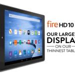 "Kindle Fire HD 10"" Tablet on Sale"