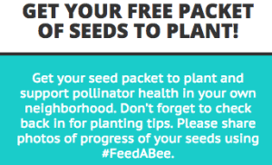 Free Flower Packet