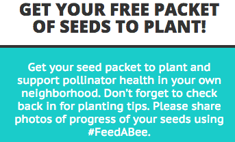 Free Flower Seed Packet