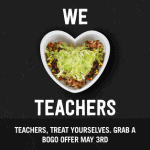 Chipotle Teacher Appreciation Deal