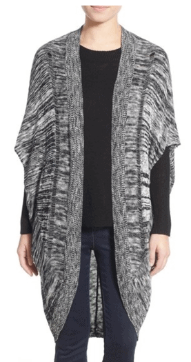 Sun & Shadow Long Cocoon Cardigan
