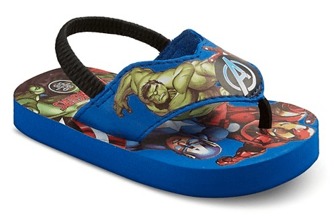 Toddler Boy's Avengers Sandals
