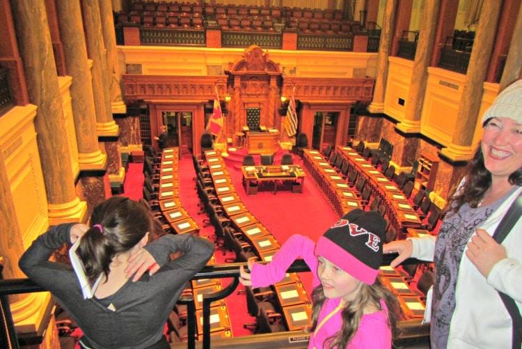 Victoria Parliament Sitting room