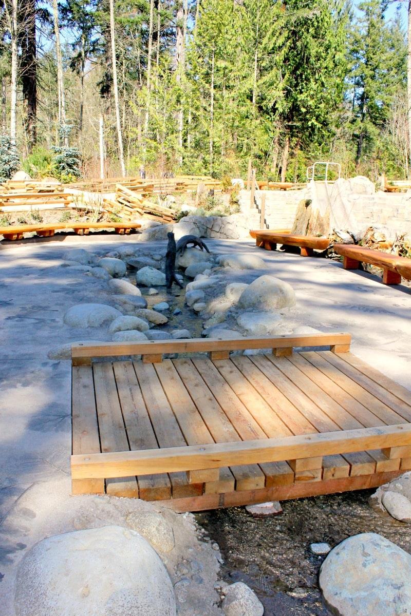 Water Play Area at Kids Trek