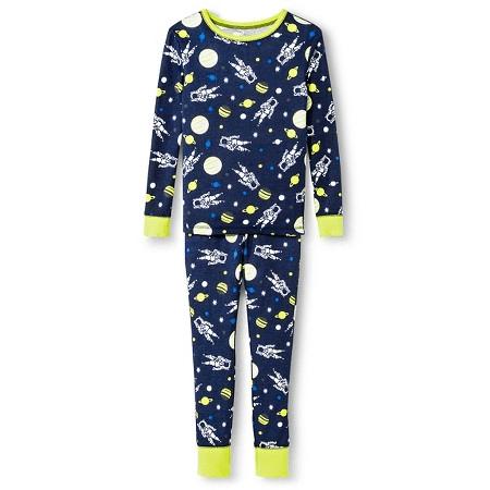 Boys' Long Sleeve Astronaut Pajama Set