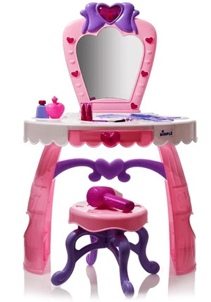 Dimple Child Dream Dresser Toy Vanity Set with Lights
