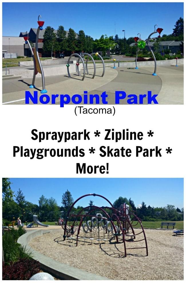 Norpoint Park & Sprayground Review (Zipline, Playgrounds & More)!