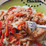 Slow Cooker Honey Garlic Chicken with Ginger Recipe